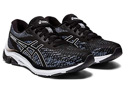 ASICS Women's Gel-Pulse 12 MK Running Shoes, 7M, Black/Black