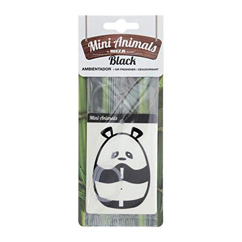 Sumex MINI040 Mini Animaux en Forme de Panda avec Odeur fraîche Noir