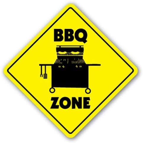 Bbq Zone Barbeque Gas Grill Herd Sauce Texas 20 x 30 cm Zinn Retro Look Dekoration Malerei Schild für Zuhause Küche Badezimmer Bauernhof Garten Garage inspirierende Zitate Wanddekoration