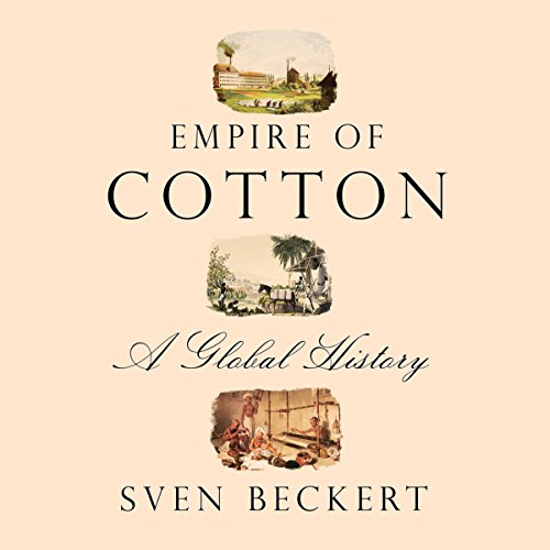 Empire of Cotton audiobook cover art