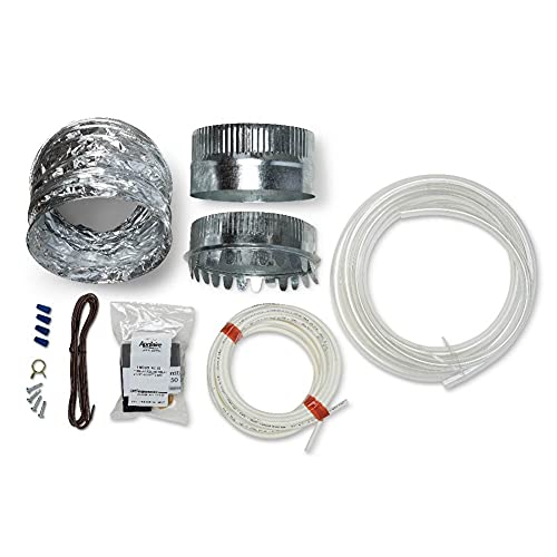 Aprilaire 5843 Humidifier Installation Kit for Aprilaire Whole Home Humidifiers with Manual Control, Compatible with Aprilaire Humidifier Models: 400M, 500M, 600M