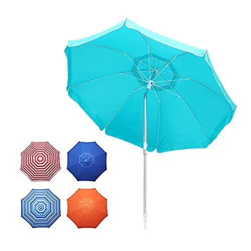 Hanekuc 6.5 FT Beach Umbrella