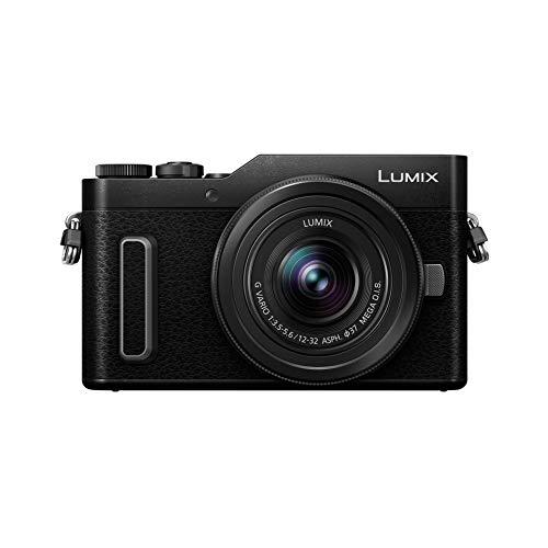 Panasonic Lumix GX880K | Cámara de Fotos híbrida compacta + Lente Lumix 12-32mm (Sensor 4/3 16MP, Pantalla Inclinada, AF DFD, vídeo 4K, Modos Selfies creativos, WiFi) Negro – Versión Francesa