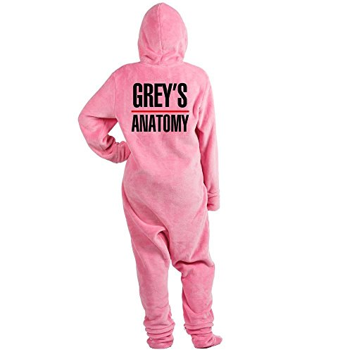 CafePress - Greys Anatomy - Novelty Footed Pajamas, Funny Adult One-Piece PJ Sleepwear