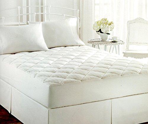 Lauren by Ralph Lauren Bronze Comfort White Luxloft KING Mattress Pad