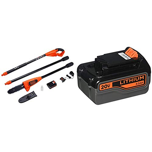 Black and Decker 20V Max Lithium Ion Pole Pruning Saw