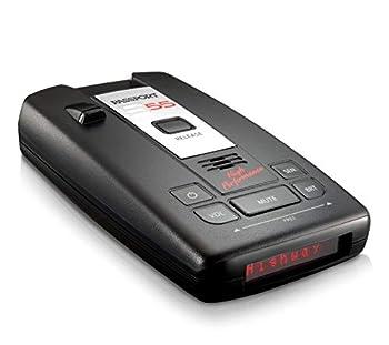 Escort Passport S55 Radar Detector – Extended Long Range Escort Live App AutoMute AutoSensitivity Audible Alerts Adjustable LED Display Signal Strength Meter Black