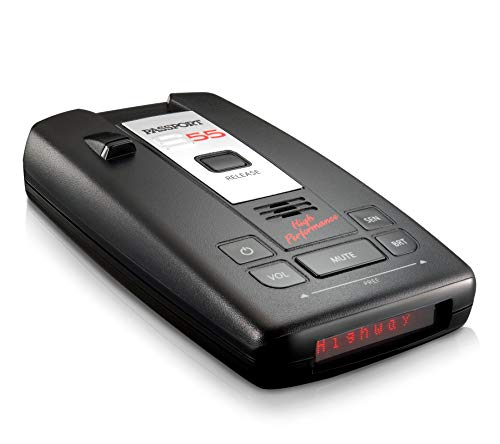 Our #4 Pick is the Escort Passport S55 High Performance Pro Radar and Laser Detector