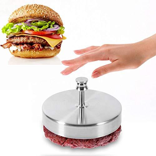 ANGGREK Antihaft-Burgerpresse Edelstahl Hamburgerpresse Gemüseburger Patty Maker Burger Maker für Leckere Hamburger Patties BBQ Burger Presse