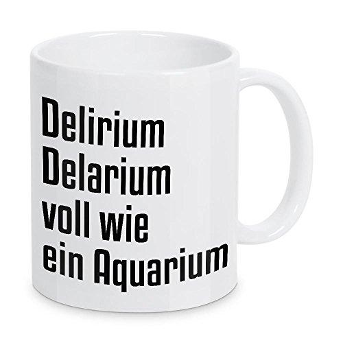 artboxONE Tasse Delirium Delarium von AB1 Edition - Kaffeetasse Typografie