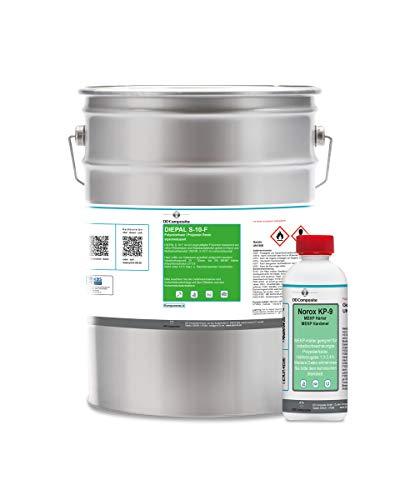 5kg Polyesterharz DIEPAL S-10-F + 100g Härter