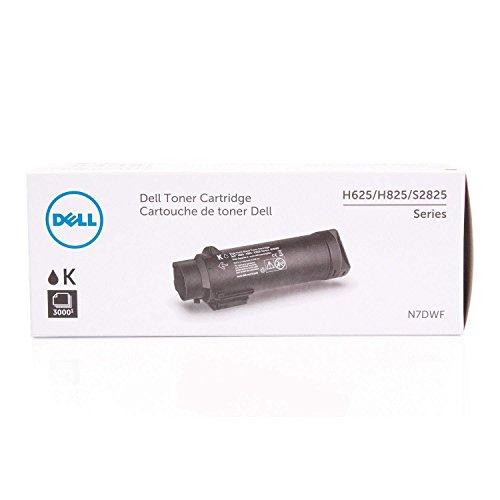 Dell Toner N7DWF 593-BBSB, H625/H825/S2825, 3000 Seiten, schwarz