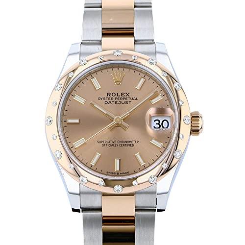 ロレックス ROLEX デイトジャスト 31 278341RBR ロゼ文字盤 腕時計 ユニセックス (W194300) [並行輸入品]