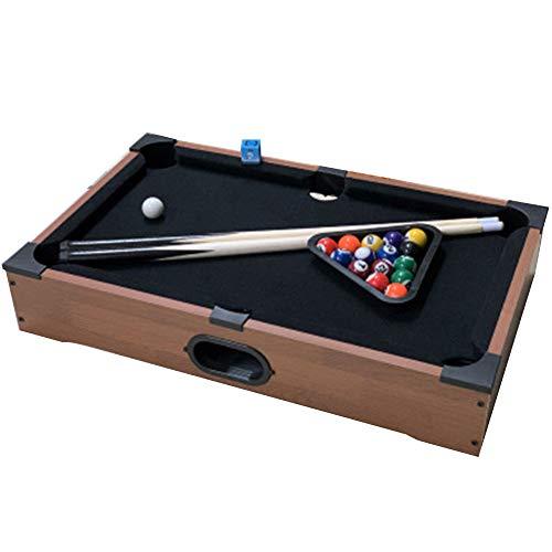 Mini pooltafel - Interactief biljart tafelspel met 16 Balls/Cue Ball / 2x Cues, Snooker tafel voor kinderen verjaardag/kerst/cadeau