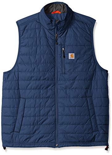 Carhartt Men's Gilliam Vest (Regular and Big & Tall Sizes), Dark Blue, X-Large