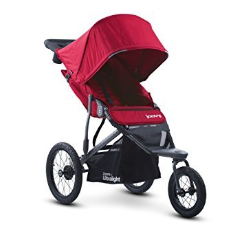Best Jogger Ultralight Baby Stroller, Car Seat Compatible, Travel Systems Ready! for Infants, Toddlers and Kids, Red Color + Free Strap-on Handy Hooks!