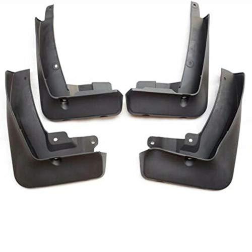 OPIUYS Guardabarros de Coche, Guardabarros ABS Negro, 4 Piezas de protección contra Salpicaduras Duradera Delantera y Trasera, para BMW X4 G02 M Sport 2019-2020