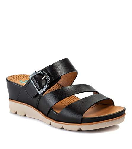 BareTraps LARALEE Women's Sandals & Flip Flops Black Size 8.5 M (BT27079)