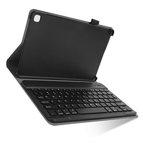 Kit de Estuche con Teclado para Tableta, Teclado inalámbrico V3.0 Tres en uno + Soporte + Cubierta Protectora, para Samsung S6 Lite P610 / P610 con tamaño de Pantalla de 10.4 Pulgadas