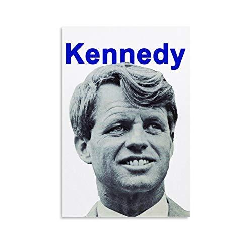 Póster vintage de Bobby Kennedy Campaign de 1968, póster retro, para habitación, estético, sala de estar, decoración de dormitorio, 30 x 45 cm