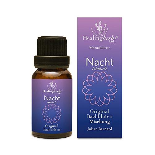 Healing Herbs Bachblüten Nacht Globuli, 15 g