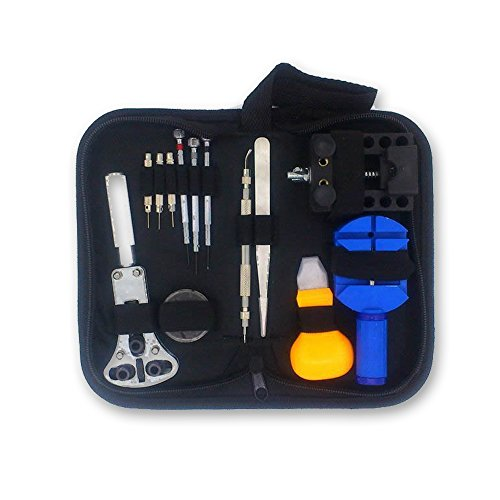 AllRight 30tlg Uhrenwerkzeugset Reperatur Set uhrmacherwerkzeug gehäuseöffner Uhrmacherwerkzeug Set