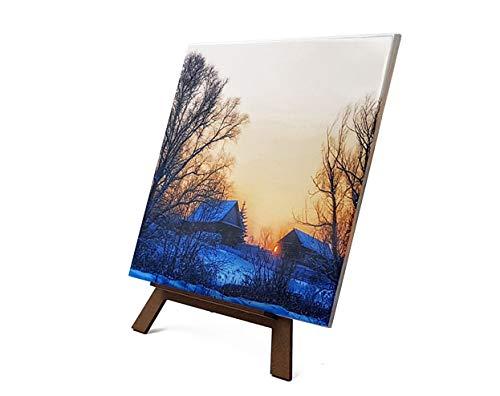 Azulejo Personalizado con Tus Fotos y Texto | Diseña Online un azulejo con Tus Mejores diseños e imágenes | CREA un azulejo Original y único | No Incluye Caballete | Tamaño: 15x15 cm