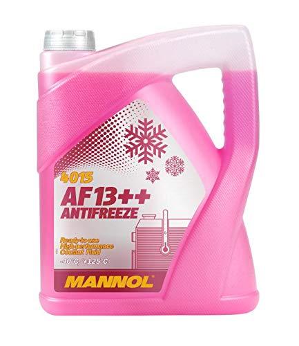 MANNOL 5 Liter, AF13++ -40°C Antifreeze Kühlerfrostschutz Fertigmischung G13