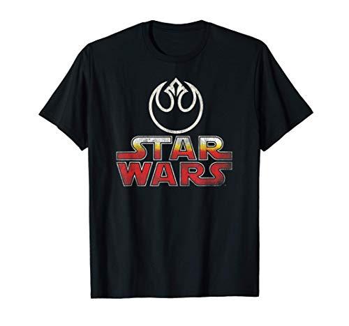 Star Wars Vintage Atari Arcade Logo Rebel Alliance Camiseta