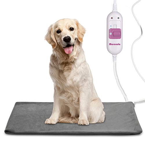 Pet Heating Pad ,Cat Dog Electric Pet Heating Pad Indoor Waterproof, Constant Temperature , Chew Resistant Steel Cord .