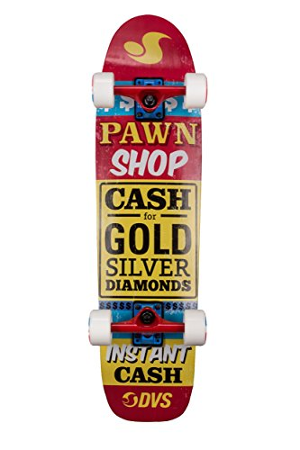 DVS Instant Cash-Skateboard Cruiser, colore: multicolore