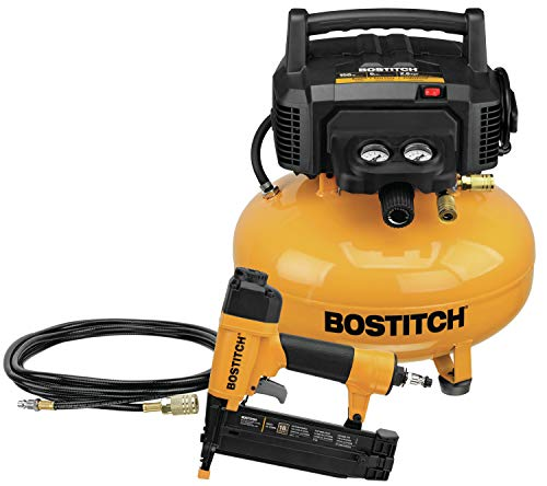 BOSTITCH Air Compressor Combo Kit with Brad Nailer, 1-Tool (BTFP1KIT). Buy it now for 199.38