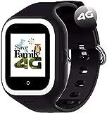 Reloj-Smartwatch 4G Iconic con Videollamada & GPS instantáneo para niños SaveFamily. Reloj con WiFi, Bluetooth, cámara, identificador de Llamadas, Boton SOS Waterproof Ip67. Rosa