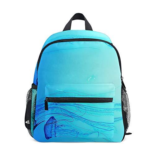 DEZIRO Bleu mer Méduse Basic Multipurpose Sacs à Dos pour Enfant école Lot