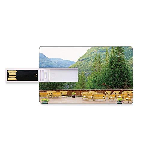 64GB Unidades Flash USB Flash Decoración de Viaje Forma de