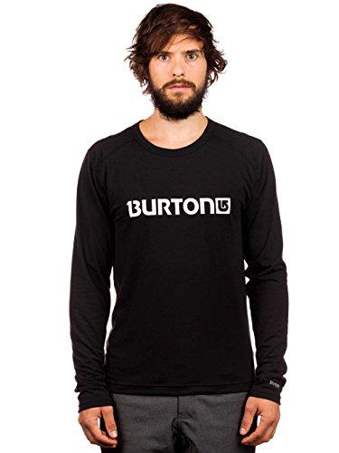 Burton Camiseta interior de esquí para hombre Midweight Sl Crew Tech Shirt LS