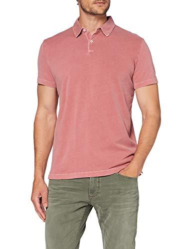 Marc O'Polo Herren 024221053126 T-Shirt, Rot (Baroque Rose 620), Medium (Herstellergröße: M)