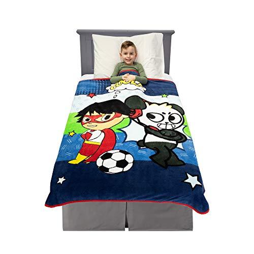 Franco Kids Bedding Super Soft Plush Throw, 46' x 60', Ryan's World