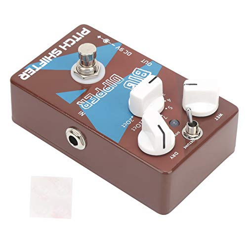 GAESHOW Pitch Shifter Gitarren Pitch Converter Effekt Pedal Transposition Harmonic Generator DC 9V Pitch Shifter