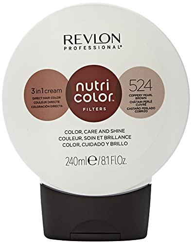 Revlon Professional Nutri Color Filters Tinte de Cabello 524 Coppery Pearl Brown 240 ml