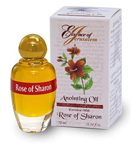 Holy Land Market Flor de Rosa de Sharon unción Aceite–Aroma de Jerusalén (.32120ml)
