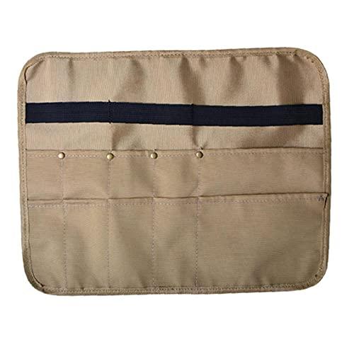 PJKKawesome Oxford Cloth Camping Picnic Bag Portátil Outdoor Vajilla Bolsa Colgante Cubiertos Organizador para Mochilero, Barbacoa, Senderismo