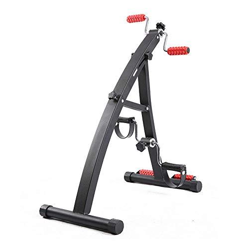 SISHUINIANHUA Heimtrainer Arm- und Beintrainer - Arm- und Beintrainer - Fitnessgeräte für Senioren und Senioren - Tragbares Pedal-Trainingsgerät