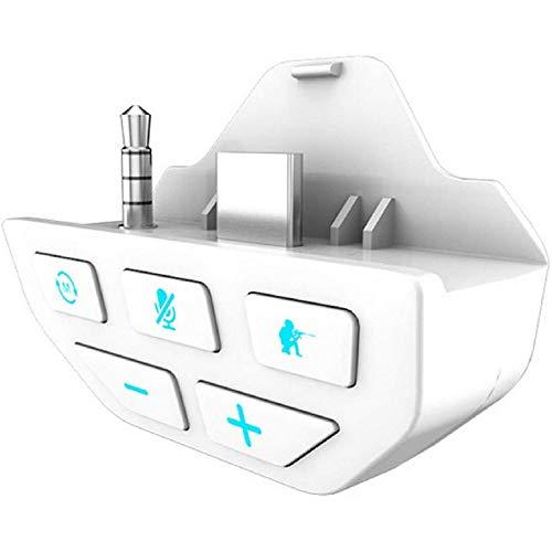 Xbox One Controller Sound Enhancer, Stereo Dongle Adaptador de audio para auriculares...