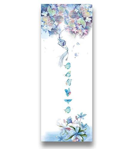 AGAGRG Esterilla de yoga con impresión, antideslizante, diseño de mariposas, de Tpe Eco, de 1,5 mm, ultrafina, unisex, para el hogar, gimnasio, fitness, pilates, aeróbico, yoga caliente