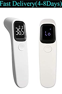 Moontree Non-Contact Infrared Forehead Thermometer Gun with LED Display,Digital Medical Ear Household Thermometer, Smart Sensor Gun for Infants and Adults - CE and FDA Approved(Transit time: 4-6 Days)