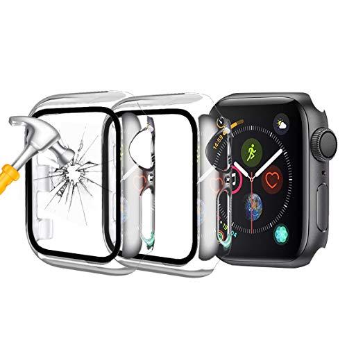 Funda para Apple Watch Series 3 / Series 4 con protector de pantalla, 38 mm