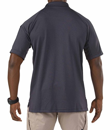 5.11 Tactical Series Performance Polo Homme, Charcoal, FR : L (Taille Fabricant : L)