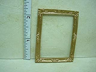 Dollhouse Miniature Picture Frame - #27 Painted Metal 1/12th Scale