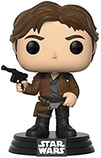 Funko Pop!-Han Solo Star Wars: Red Cup Figura de Vinilo, Multicolor (26974)